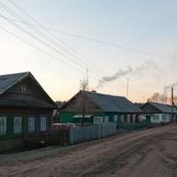 Въезд в Семендяво со стороны деревни Шамановка