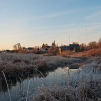 Вид со стороны речки Жабня