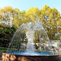 Фонтан в парке Ривьера