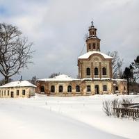 Троицкая церковь в с. Раменье Куменского района Кировской области