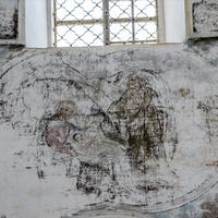 Троицкая церковь в с. Раменье Куменского района Кировской области. Росписи.