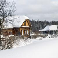 Дом в с. Раменье Куменского района Кировской области.