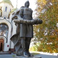 """Мамаев Курган. Памятник """"Женщина-солдат"""""""