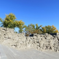 Мамаев Курган. Стены-руины