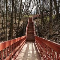 Лестница через Голосов овраг