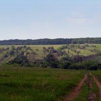 Дорога на сільський куток Остапівка 18.05.2012 р.