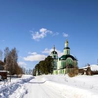 Троицкая церковь в с. Волково Слободского района Кировской области