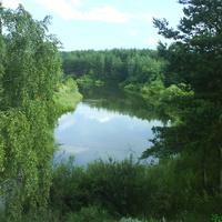 Лето.Озеро Солянка.