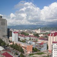 Вид на город Батуми