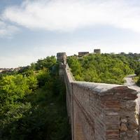 Стены крепости в Сигнахи