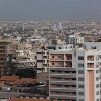 Вид на Дакар