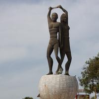 Монумент на площади Соуэто