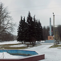 центральная площадь дебальцево