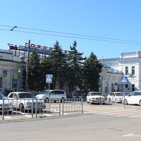 Новороссийск. Железнодорожный вокзал.