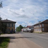 Улица  вгороде Бежецк