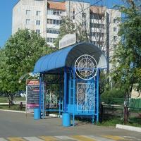 Городская автобусная остановка