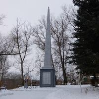 Монумент жителям посёлка Мышега, павшим в Великой Отечественной