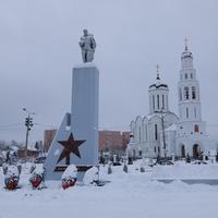 Мемориал в честь жителей Апрелевки, погибших в Великую Отечественную