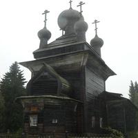 с. Вирма церковь Петра и Павла 1625 года