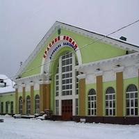 вокзал зимой