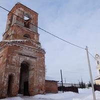 Колокольня Крестовоздвиженского монастыря