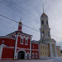 Алексеевская надвратная церковь и колокольня