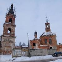 Заброшенная Покровская церковь