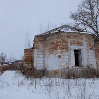 Развалины Петропавловской церкви