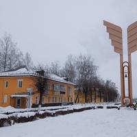 Монумент в честь 50-летия Победы