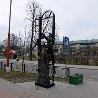Памятник сотрудникам МЧС