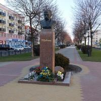 Памятник-бюст украинскому поэту Тарасу Шевченко