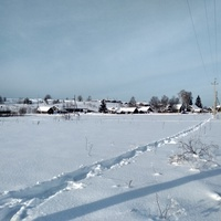 панорама деревни Палтега