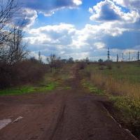 заброшенная дорога на Щебёнку