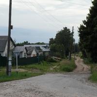 Улица в частном секторе