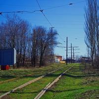 трамвайная ветка на пос. Шмидта