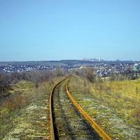 дорога на шахту К. Маркса