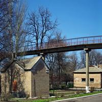 мост на жд вокзале Горловка