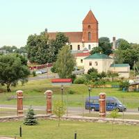 Вид на костел Святого Николая