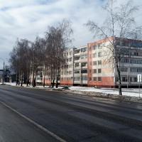 Дорога Р-93. г.Кировск. ул.Гагарина.
