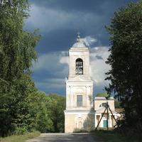 Прямухино, колокольня Троицкой церкви