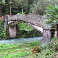 Мост через реку Псырцха