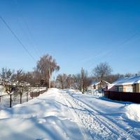 Зима в с. Большая Поляна (январь 2019)