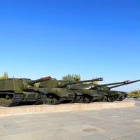 "Выставка у музея ""Сталинградская битва"""
