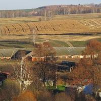 Вид на ферму и Мотылиху