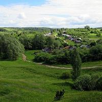 Вид на деревню Щедрино
