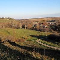Вид на вторую половину деревни. Мотылиха