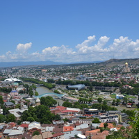 Вид города с высоты Крепостный комплекса