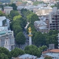 Тбилиси площадь свободы.