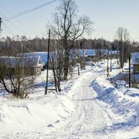 Улица в селе Зашижемье Советского района Кировской области