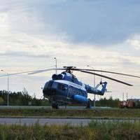 Памятник-вертолёт МИ-8